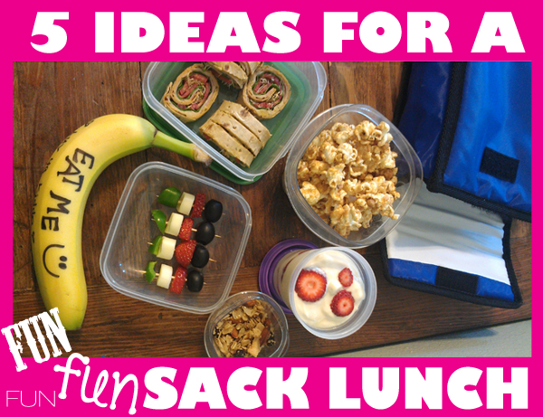 5 ways to make fun healthy lunches from home