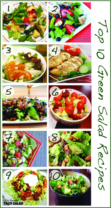 Top 10 Green Salad R